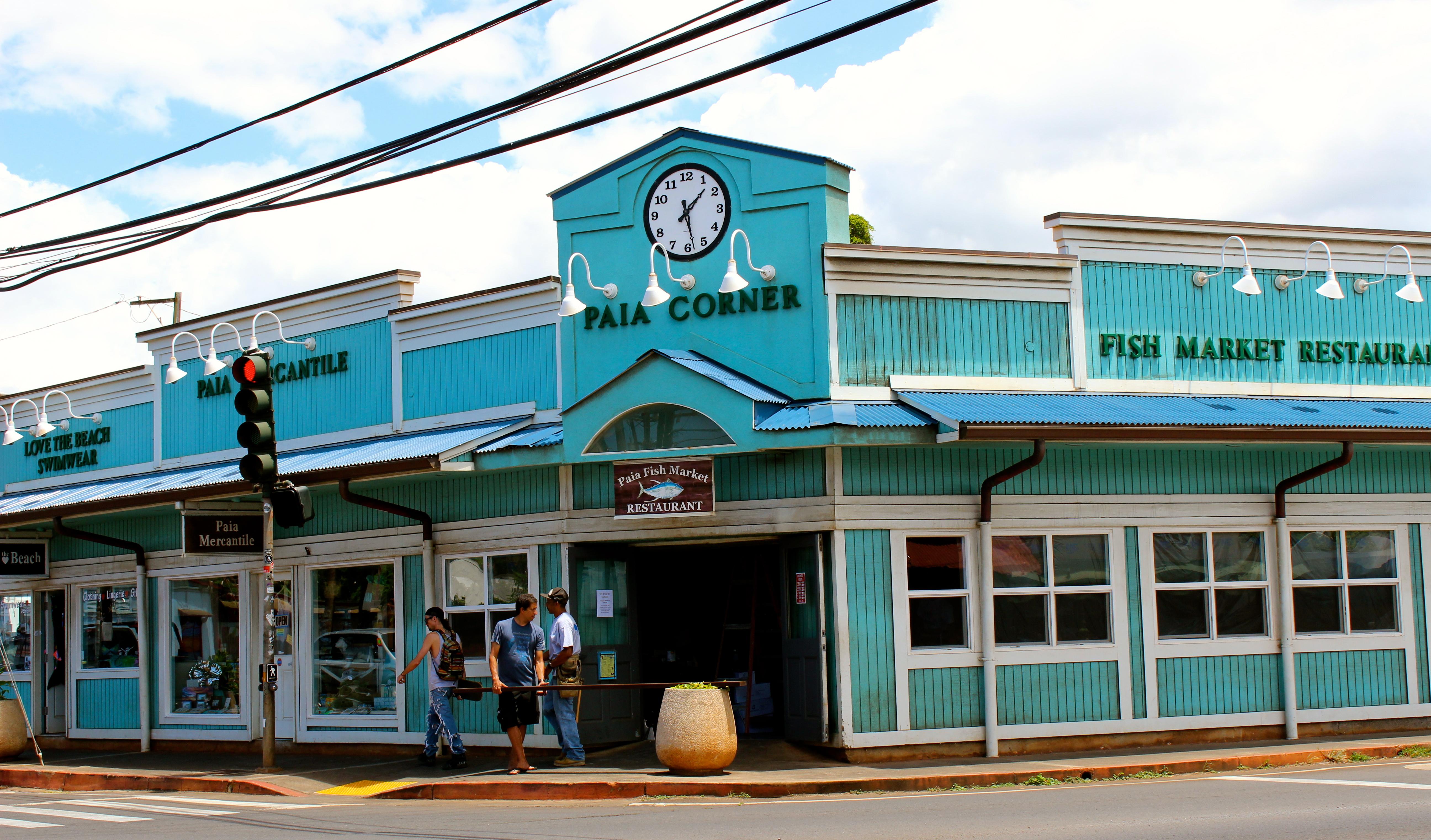 Paia fish market for Maui fishing store