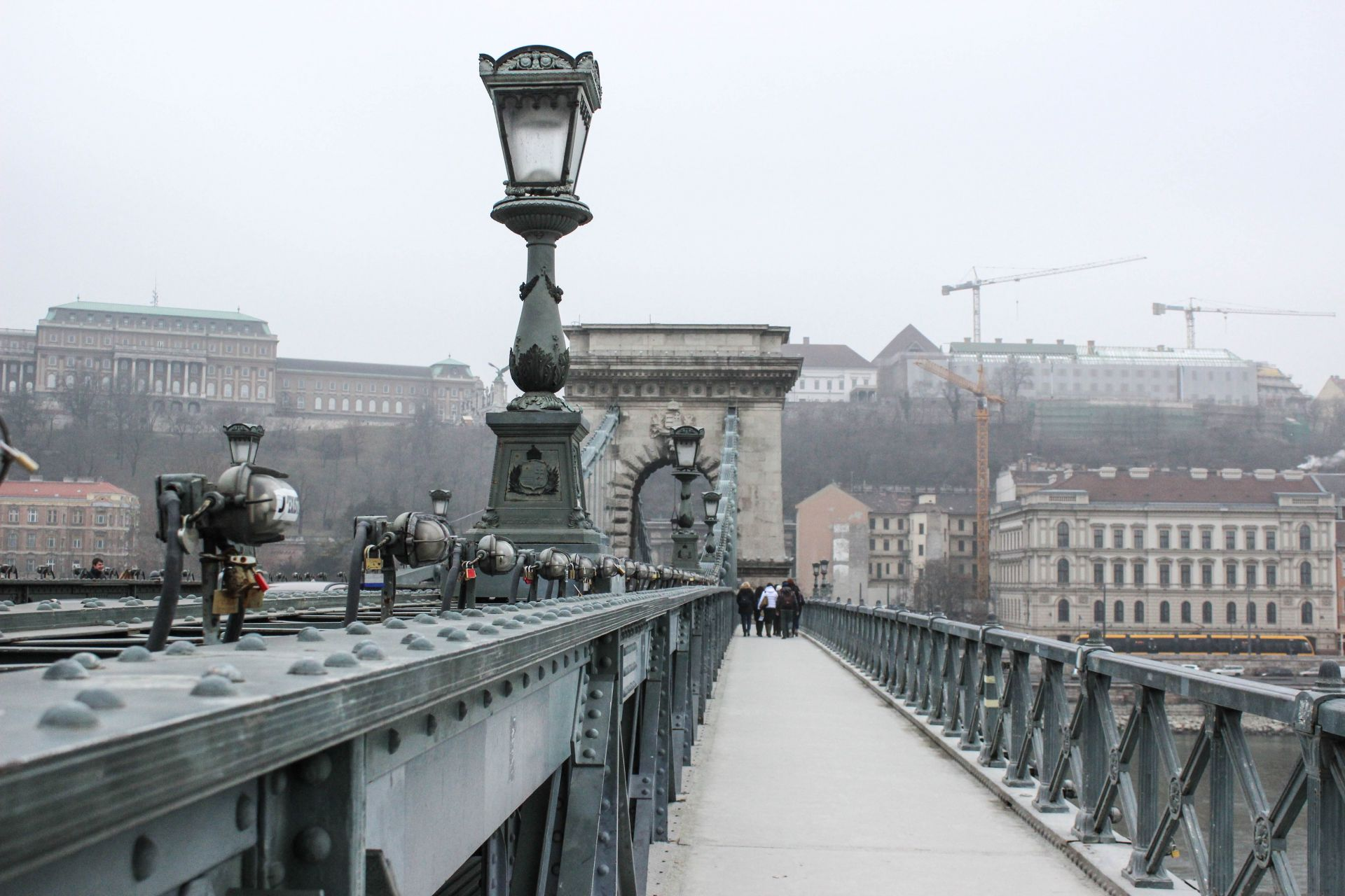 From Pest To Buda Walking The Chain Bridge In Budapest