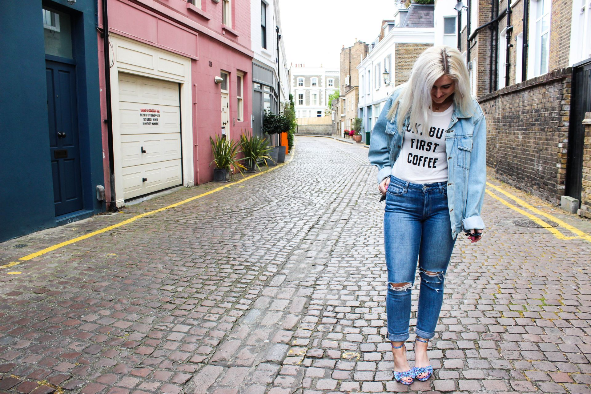 double denim jean jacket style