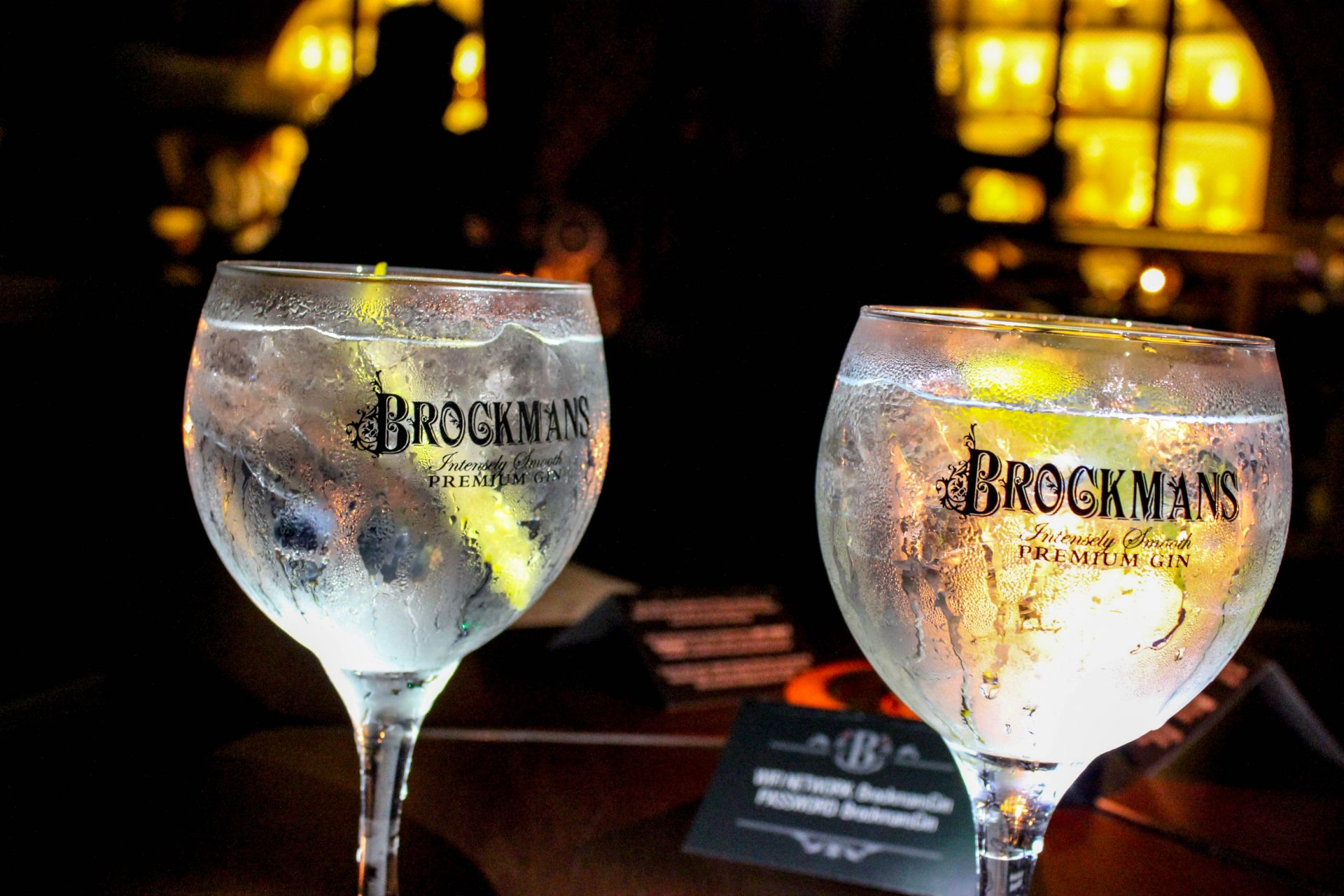 press for gin london event
