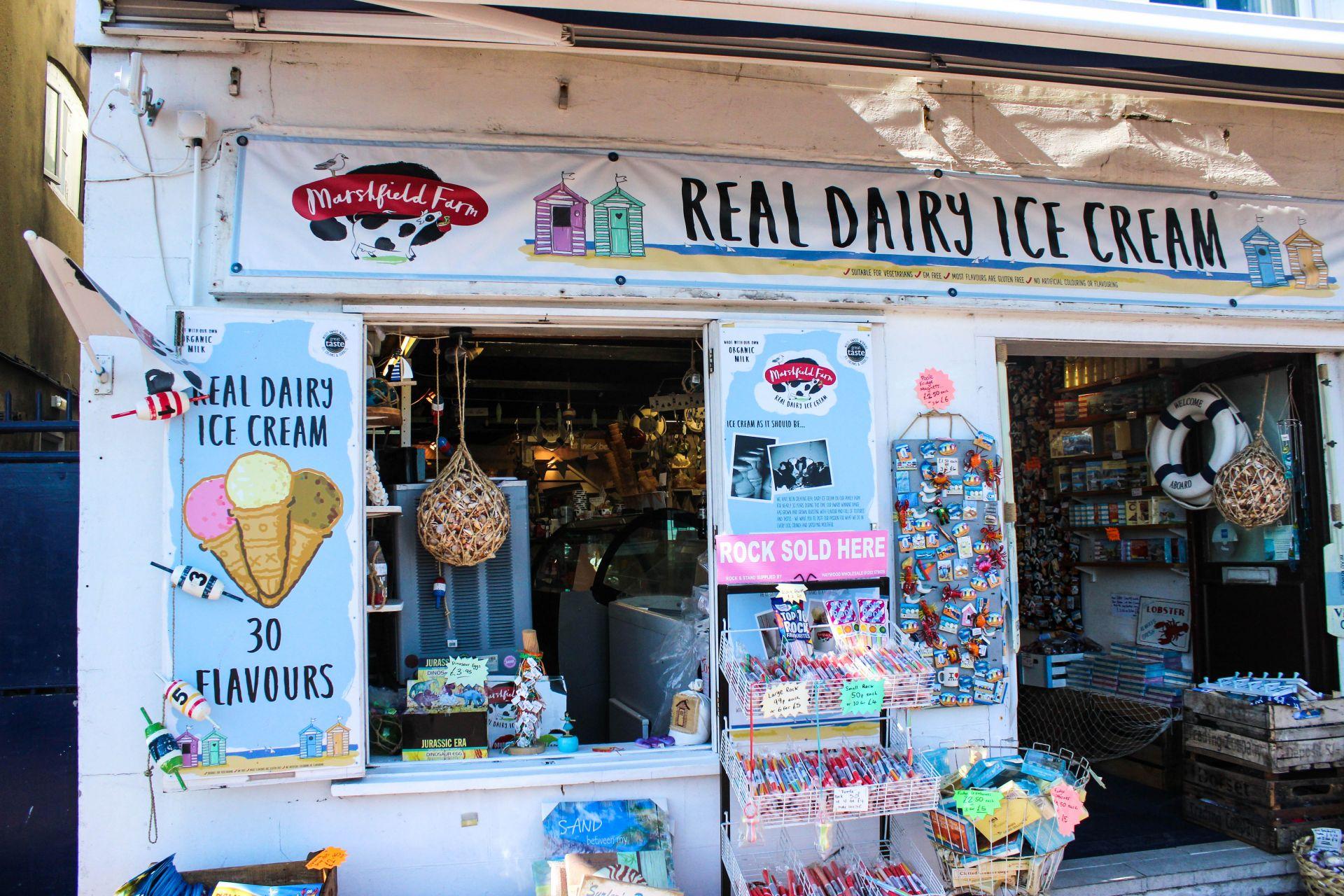 ice cream in poole, real dairy ice cream