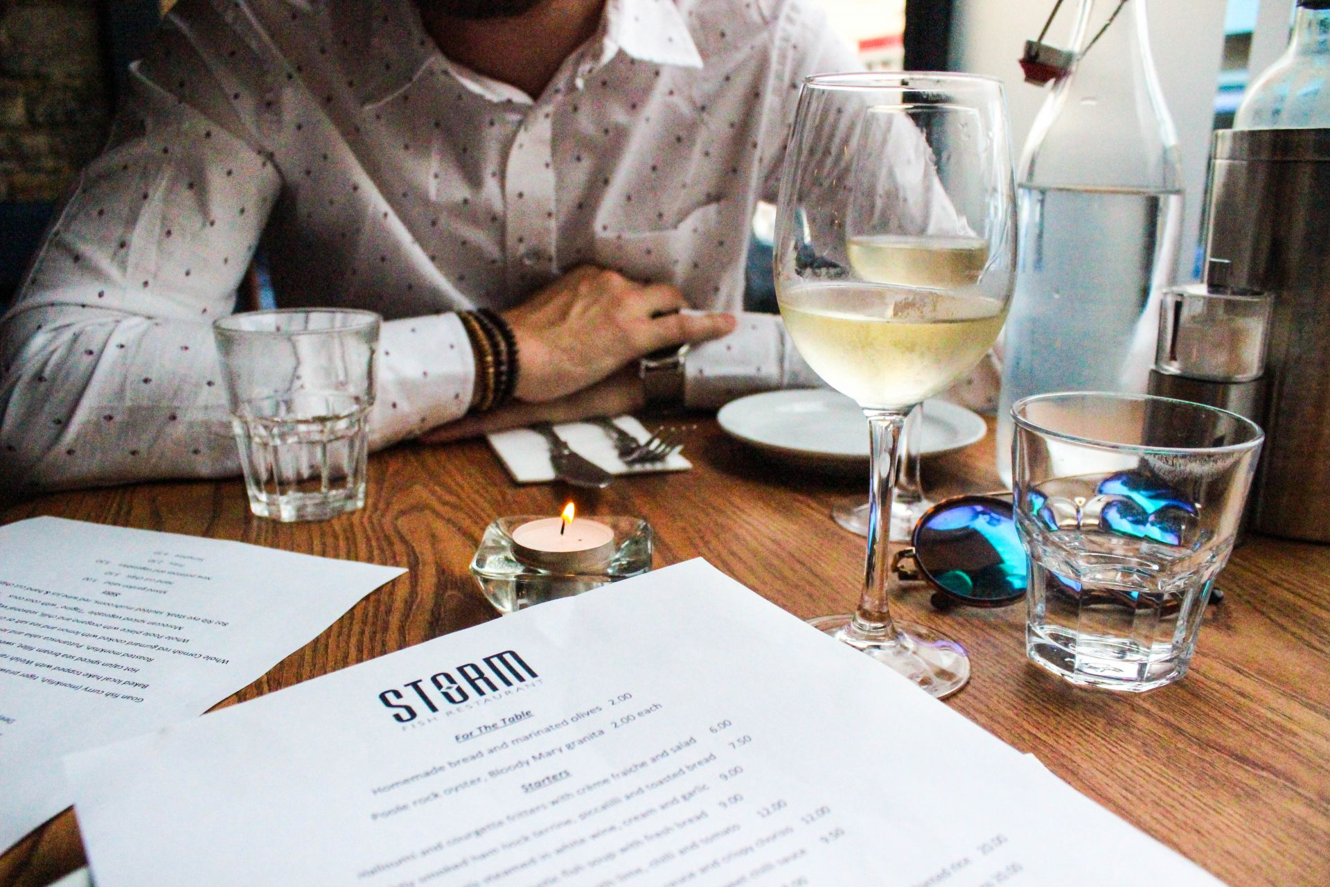 stormfish restaurant poole review