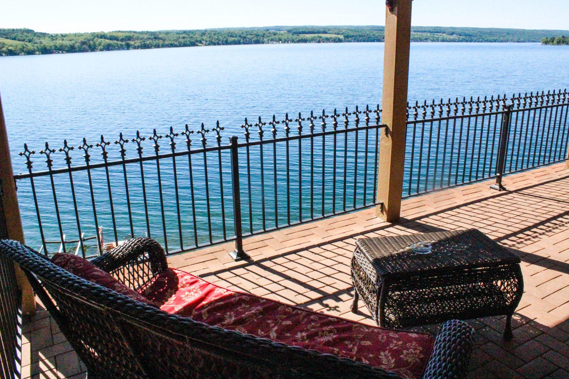 the steamboat castle, finger lakes new york