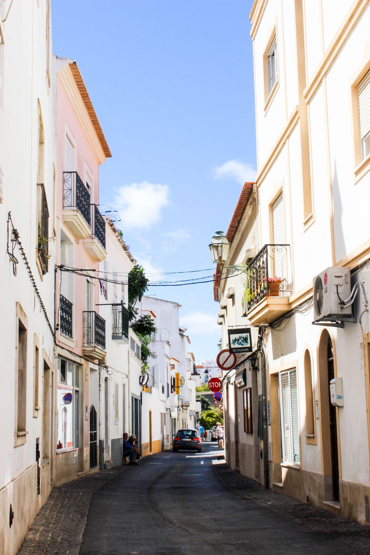 lagos town visiting portugal