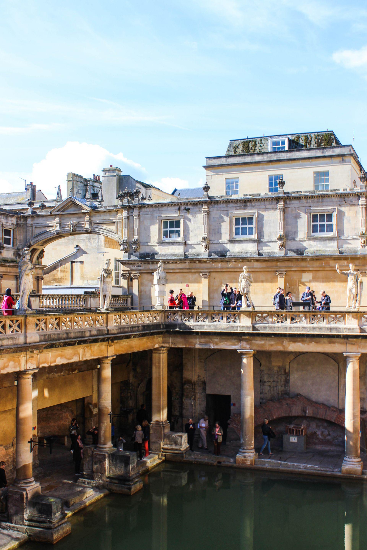 roman baths, bath review