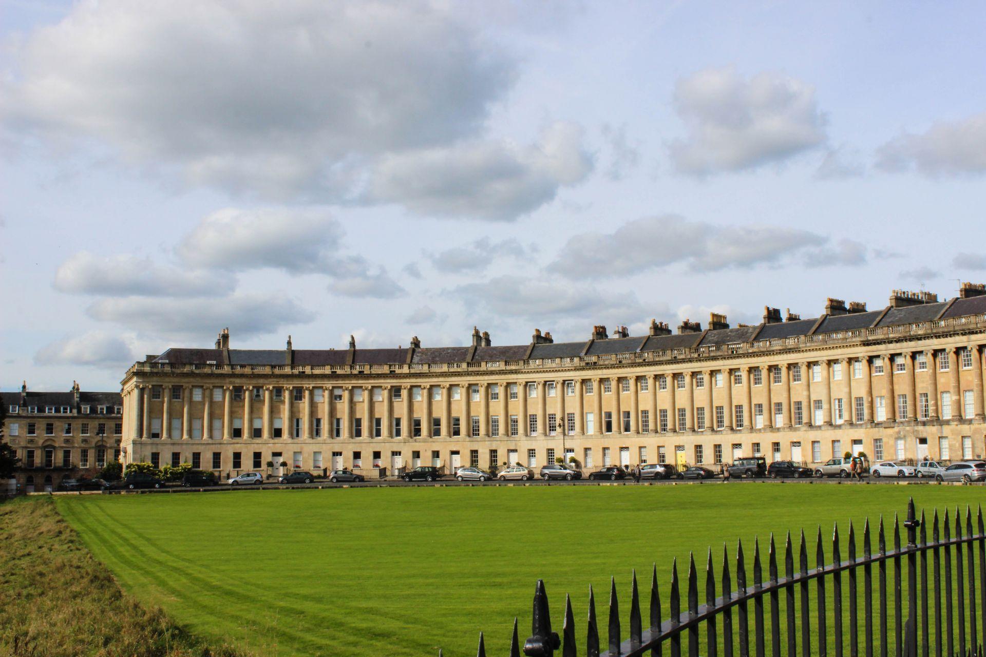 the royal crescent bath, visit bath