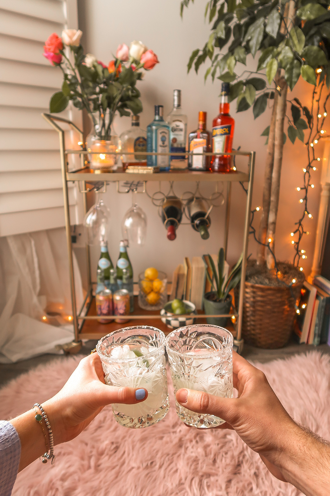 7 Simple Ways To Upgrade Your Bar Cart Kelly Prince Writes